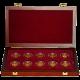 Sada Deset století architektury 10 zlatých mincí 2001 - 2005 Standard