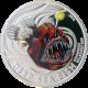 Strieborná minca Deep Sea Fish čertotvaré 2010 Proof Pitcairn Islands