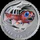 Strieborná minca Deep Sea Fish Svetielkujúce 2010 Proof Pitcairn Islands
