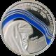 Stříbrná mince Matka Tereza 100. výročí 2010 Proof Palau