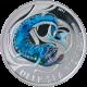 Stříbrná mince Deep Sea Fish Melanostomias Biseriatus 2011 Proof Pitcairn Islands