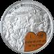 Stříbrná mince Desatero - První přikázání 2011 Proof Palau