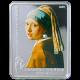 Stříbrná mince Jan Vermeer Dívka s perlovou naušnicí 2009 Proof