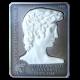 Stříbrná mince Michelangelo Socha Davida 2010 Proof