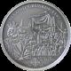 Stříbrná mince Druhá křížová výprava 2010 Standard Cook Islands