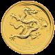 Zlatá investiční mince Year of the Dragon Rok Draka Lunární 1 Kg 2012