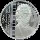 Strieborná minca Frédéric Chopin 2008 Proof Mongolsko