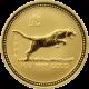 Zlatá investiční mince Year of the Tiger Rok Tygra Lunární 1 Oz 1998