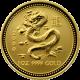 Zlatá investiční mince Year of the Dragon Rok Draka Lunární 1 Oz 2000