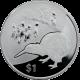 Stříbrná mince Kiwi Treasures 1 Oz 2012 Proof
