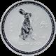 Stříbrná investiční mince Year of the Rabbit Rok Králíka Lunární 1 Oz 1999