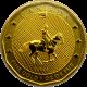 Zlatá investiční mince Mountie Maple Leaf 1 Oz 2011 (.99999)