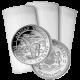 Stříbrná investiční mince Slon africký Somálsko 1 Oz - Investiční Paket 100 Kusů