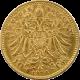 Zlatá minca Ďesaťkorunáčka Františka Jozefa I. Rakúská razba 1896