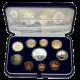 Sada obežných mincí 2009 výročie Talianska Euromince Proof
