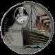 Strieborná minca Titanic 1 Kg 2012 100. výročie Night Pearl Black