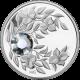 Strieborná minca Apríl Narodeninový kryštál (Diamant) 2012 Proof