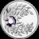 Strieborná minca Jún Narodeninový kryštál (Alexandrit) 2012 Proof
