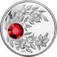 Strieborná minca Júl Narodeninový kryštál (Rubín) 2012 Proof