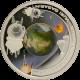 Stříbrná mince První muž ve vesmíru Jurij Gagarin 1 Oz 2008 Proof