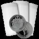 Stříbrná investiční mince Scottsdale Omnia 1 Oz - Investiční Paket 100 Kusů