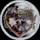 Stříbrná mince kolorovaná Láska Navždy 2012 Proof
