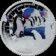 Stříbrná mince kolorovaný Tučňák císařský 1 Oz 2012 Proof