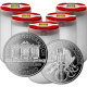 Stříbrná investiční mince Wiener Philharmoniker 1 Oz - Investiční Paket 100 Kusů *