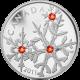 Stříbrná mince Sněhová vločka Hyacint 2011 Proof (.9999)