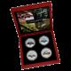 Sportovní auta třicátých let Exkluzivní sada stříbrných mincí 2006 Proof