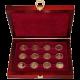 Sada 12 zlatých medailí Staré pověsti české 2008 Proof