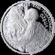 Stříbrná medaile k výročí Dany a Emila Zátopkových 2012 Proof