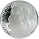 Franz Liszt Stříbrná medaile 2011 Proof