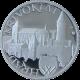 Hrad Křivoklát stříbrná medaile 2010 1Oz PROOF