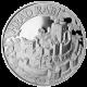 Stříbrná medaile Hrad Rabí 2012 Proof