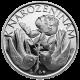 Stříbrná medaile K narozeninám s věnováním Proof
