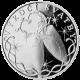 Stříbrná medaile k výročí svatby s fotografií 2012 Proof
