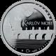 Stříbrná medaile Karlův most 2002 Proof
