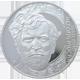 Stříbrná mince 200 Kč Alfons Mucha 150. výročí narození 2010 Standard