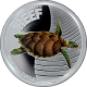 Stříbrná mince Kareta pravá Australian Sea Life II. 2011 Proof
