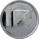 Stříbrná mince 200 Kč Kilián Ignác Dientzenhofer 250. výročí úmrtí 2001 Proof
