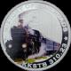 Stříbrná mince kolorovaný KKSTB 310.23 History of Railroads 2011 Proof