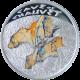 Stříbrná mince Jeskyně Chauvet 2011 Proof Niue