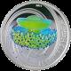 Stříbrná mince Jellyfish Středomořská Medúza 2010 Proof Pitcairn Islands