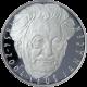 Stříbrná mince 200 Kč Leoš Janáček 150. výročí narození 2004 Proof