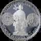 Stříbrná mince 200 Kč Měnové reformy Václav II. 700. výročí 2000 Proof
