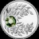 Stříbrná mince Srpen Narozeninový krystal (Peridot) 2012 Proof