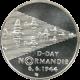 Stříbrná mince 200 Kč Vylodění spojenců v Normandii 50. výročí 1994 Standard