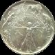 Stříbrná mince 200 Kč Ochrana a tvorba životního prostředí 1994 Standard