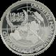 Stříbrná mince 200 Kč Založení OSN 50. výročí 1995 Proof